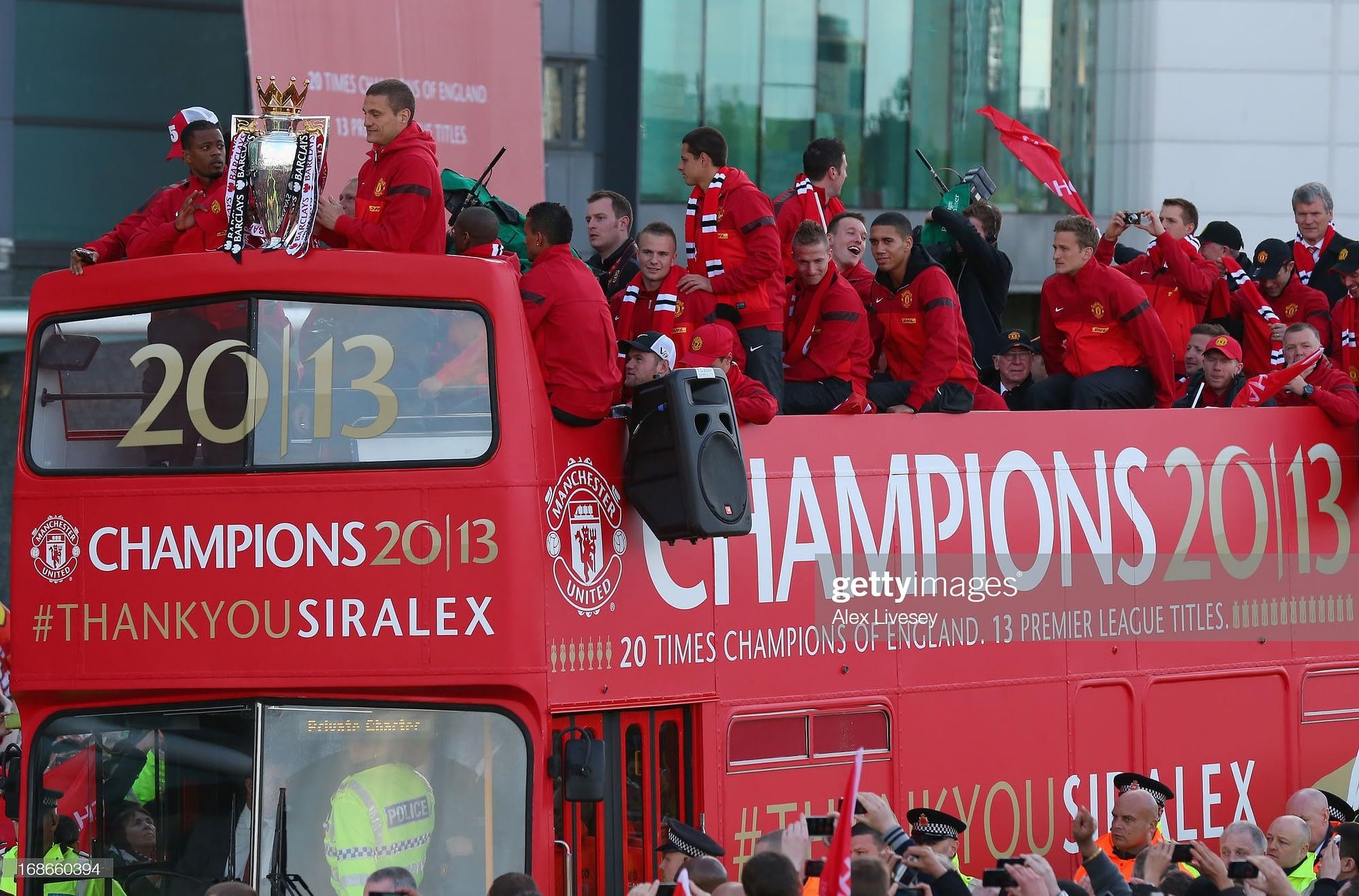 Manchester United bus tour