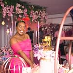 Osas Ighodaro, Clarence Peters, Do2dtun and More Celebrate Moet Abebe's 31st Birthday With a Private Dinner