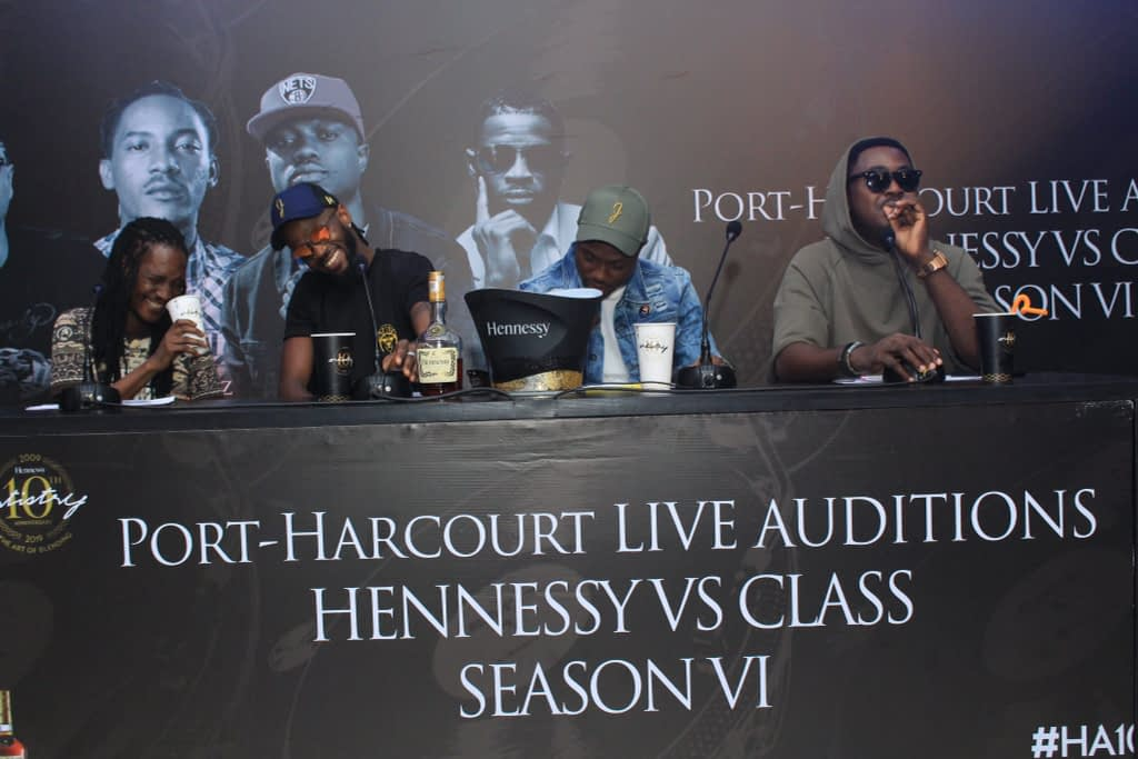 hennessy vs class port harcourt audition