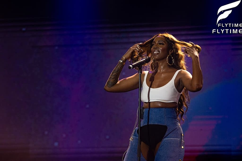 Tiwa Savage at Everything Savage Concert