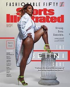 Serena covers sexy athlete magazine