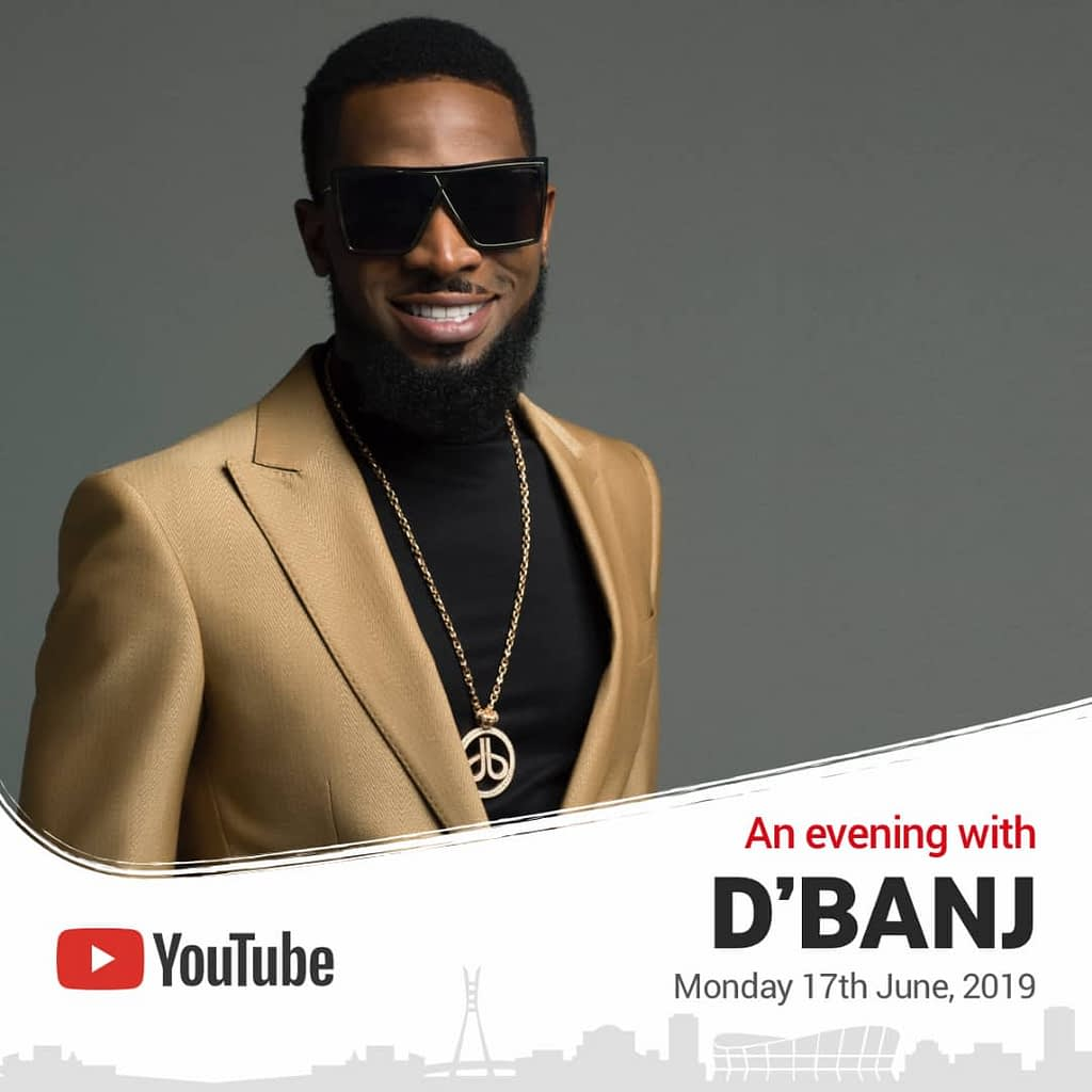 YouTube hosts Dbanj