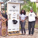 Ayo Charity Foundation Donates Hand-Sanitizing Unit to Children Centre, Idi-Araba