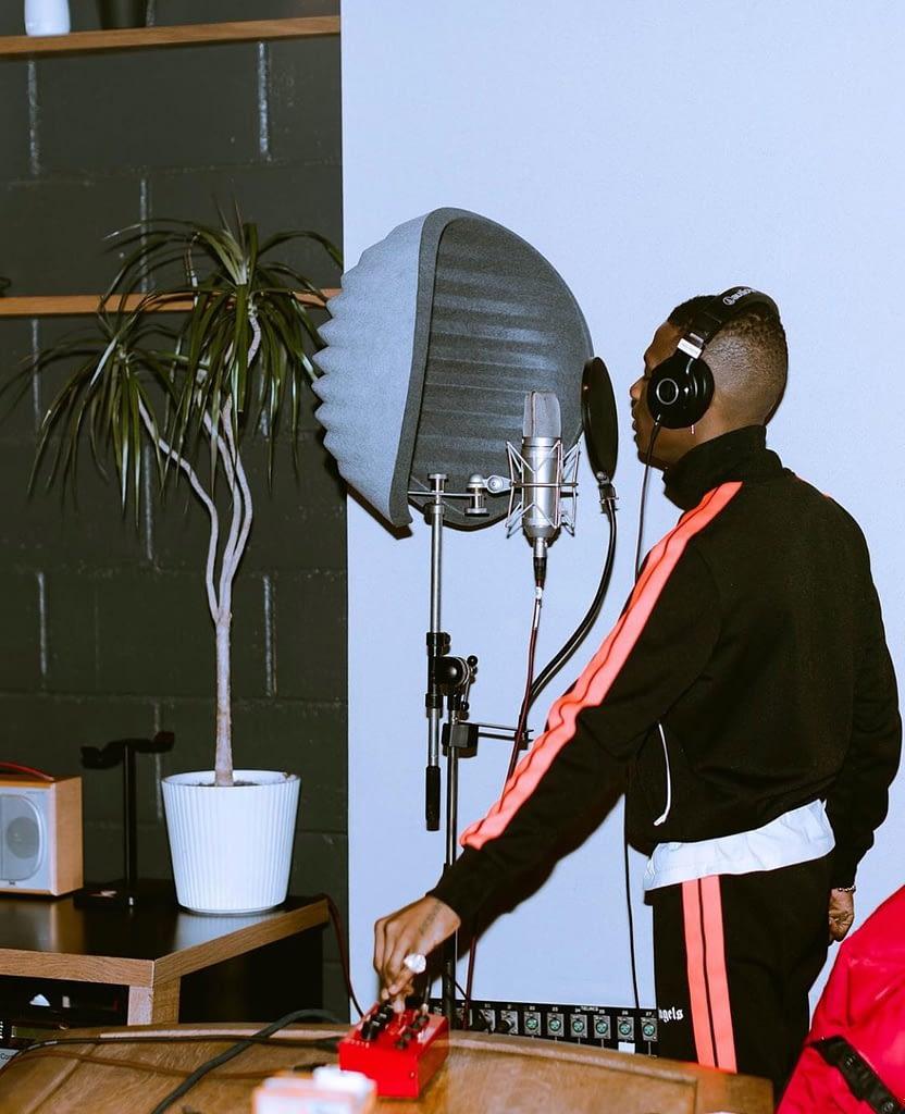 WIZKID recording made in lagos