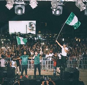 Major Lazer at Sound System Concert in Lagos